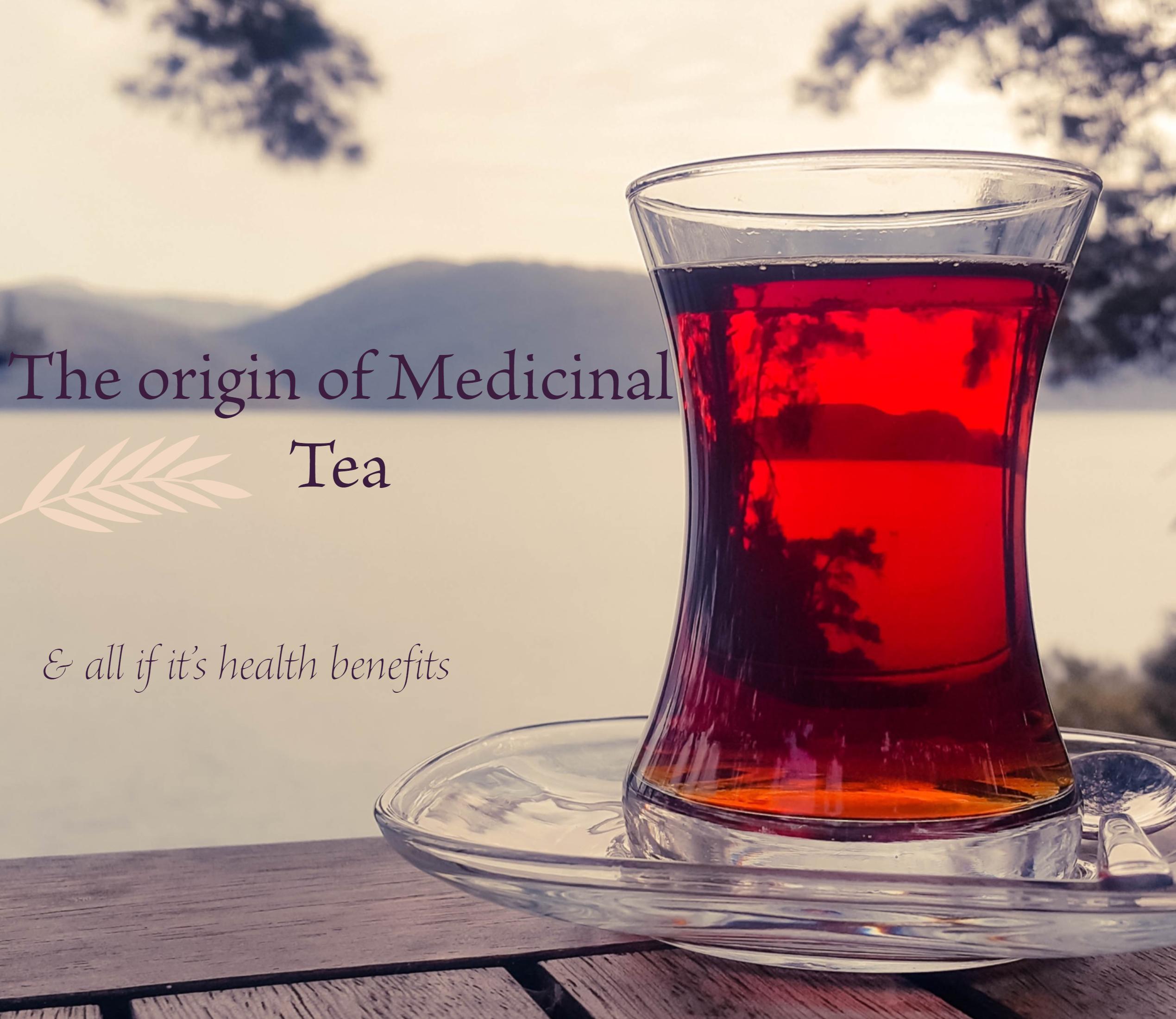 medicinal tea banner